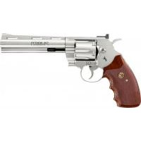 Revolver CO2 Colt Python .357 6'' Full Metal nickel, kal. 4,5mm BB